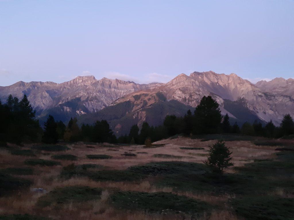 Premières images de l'aube