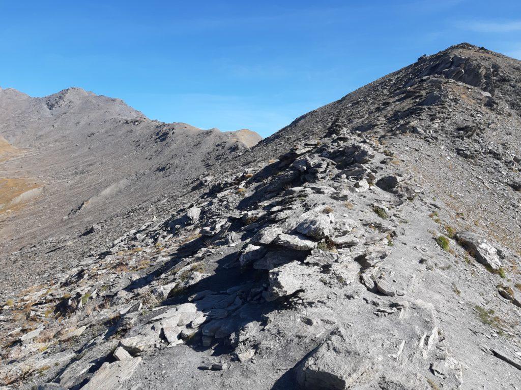 La crête rocheuse au niveau du Malrif